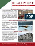 Notizie Dal Comune di Borgomanero del 26-03-2021