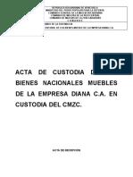 ACTA DE CUSTODIA CMZC