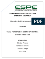 Grupo 1Ejercicio 6.52 y 6.68