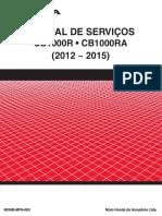 MS CB1000R 2012-2015