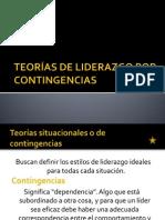 TEORÍAS DE LIDERAZGO POR CONTINGENCIAS