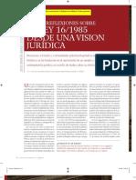 Abad, J,M. La Ley 1985 desde una visión jurídica. 2008