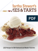 Recipes from Martha Stewart's Pies and Tarts by Martha Stewart