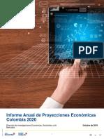 Informe Anual de Perspectivas Económicas Colombia 2020