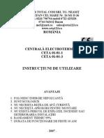 CETA 123 - carte tehnica