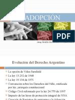 Filiación adoptiva
