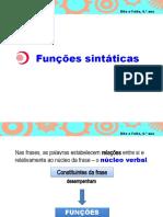 Funções _sintáticas_ppt