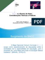 BNCC e Artes