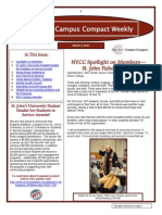 3-4-11 New York Campus Compact Weekly
