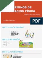 ESPOSICION DE EDUCAICON FISICA
