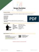 Petite fugue pour 2 clarinettes de Jean-Sébastien Bach