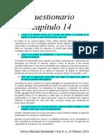 CUESTIONARIO 14