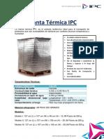 Manta Térmica IPC