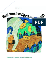 How Much Is Flexibility Worth, McKinsey 1998