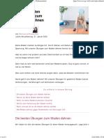 Waden dehnen - Die 9 besten Übungen für gedehnte Wadenmuskeln