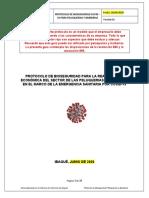 Protocolo para Peluquerías y Barberías (Incluye la resolución 899)
