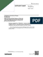 Declaración de CHIRAPAQ ante la CSW65 (2021)