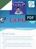 Paz viernes 19 de Marzo