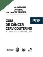 prog nac cancer cervico uterino