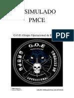 3º Simulado Pmce g.o.e