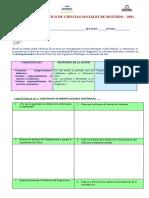 Prueba Diagnostico de Ciencias Sociales de Segundo (1)