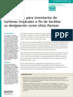 Lineamientos Turberas Ramsar