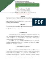 modelos para artigos tcc LEVANTAMENTO BIBLIOGRAFICO