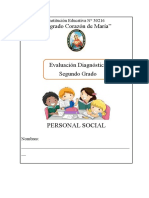 EVALUACIÓN DIAGNOSTICA DE P.S.