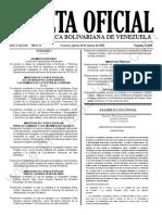 Gaceta Oficial N°42.090