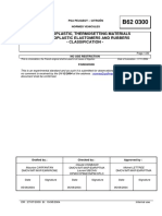 B62 0300  (rev. B; 2004.08) EN - THERMOPLASTIC, THERMOSETTING MATERIALS THERMOPLASTIC ELASTOMERS AND RUBBERS - CLASSIFICATION -