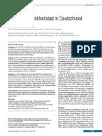 COVID-19-Krankheitslast in Deutschland  im Jahr 2020