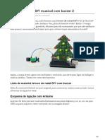 filipeflop.com-Árvore de Natal DIY musical com buzzer 2