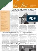 @John Jay Newsletter (March 9, 2011)