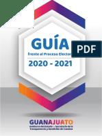 Guía Frente al Proceso Electoral Guanajuato 2021