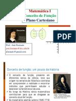 Aula 5 - Plano Cartesiano e Funções