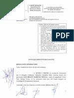 Poder Judicial declara improcedente recusación contra Víctor Zúñiga
