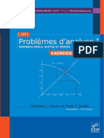 Problèmes d'Analyse Tome I