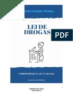 E-Book LEI DE DROGAS