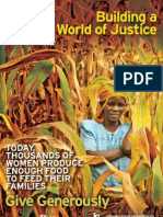 Poster - Building a world of justice