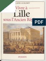 Vivre à Lille sous l'Ancien Régime