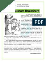 Lectura El-Caminante-Hambriento-Primaria