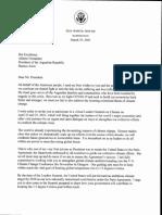 Invitación de Biden a Fernández