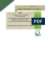 Clase 6.1 - Formato de Hojas de Calculo e Impresion