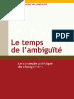 Le temps de l'ambiguïté - Le contexte politique du changement