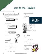 IV BIM - ALG - Guía 5 - Ecuaciones 2do Grado II