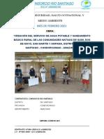 Informe Mensual Ssoma Febrero 2021