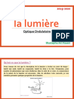 Optique Ondulatoire Chapitre 1