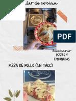 Recetario Pizzas y empanadas