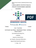Proyecto Final Reglamento Tecnico