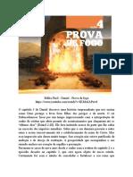 Lição 4. Capítulo 3 - Prova de Fogo
